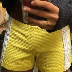lilly pulitzer shorts!